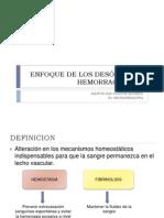 DESÓRDENES HEMORRAGÍPAROS