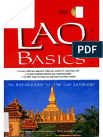 50 Lao Basics an Introduction to the Lao Language