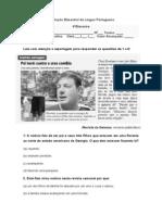Avaliação Bimestral de Língua Portuguesa 4º bimestre