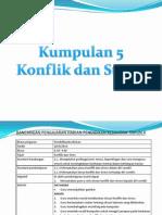 KONFLIK DAN STRESS PK THN 4