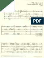 String Quartet No II, 1