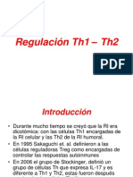 Regulación Th1 – Th2