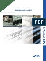 SAS Sistemas de Barras Roscadas de Acero - S