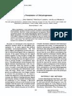 Affinity Precipitation of Dehydrogenases