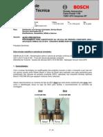 022 - Procedimento Substituição  (GDV) - Aplicação Ônibus Volvo B7R
