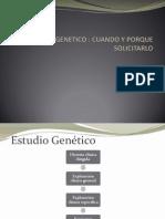 ESTUDIO GENETICO