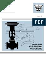 Control Valve Sizing Handbook