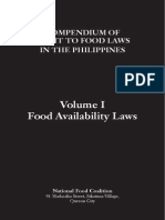 Compendium of Right To Food Laws in the Philippines - Volume I