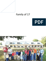 Familia Con 17 Hijos