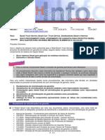 006 - Novo procedimento para garantia Diesel de Bico, Elementos e Válvula
