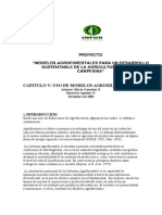 Modelo Agroforestal Sustentable en La Agricultura Familiar Campesina - Cap.v
