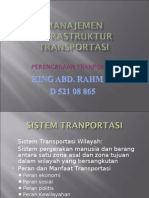 Manajemen Infrastruktur Transportasi