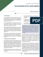 Aspectos Generales de Las Stock Options (1)