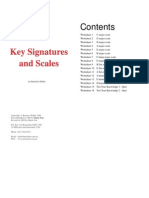 Key Signature and Scales sheets