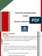 Clase 04 Analisis y Descripción de Cargos
