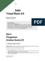 Krisna-Vb6-06 Penggunaan Struktur Kontrol If