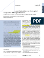 [AnnPhys 2013 Choi] Application of Femtosecond-pulsed Lasers for Direct Optical Manipulation of Biological Functions