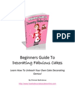 eBook Beginners Guide to Decorating Fabulous Cakes 1 Feb 2014