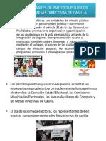 REPRESENTANTES DE PARTIDOS POLÍTICOS