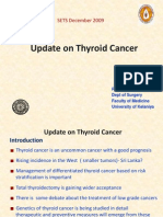 Update on Thyroid Cancer