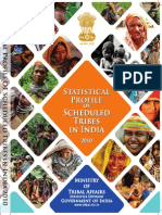 Statistical Profile of Scheduled Tribes in India