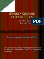 Sangre Y Órganos Hemopoyéticos.