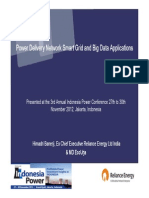 Power Delivery Network Smart Grid and Big Data Applications Final