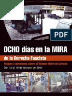 Ataques y agresiones contra el sistema metro de Caracas