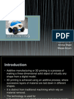3d Printing(Final Ppt)
