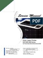 SERVICE MANUAL Samsung CLP 320-325