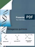 mutagenos quimicos