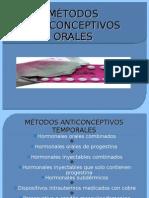 METODOS HORMONALES ORALES