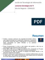 Modelo de Negocios Codelco