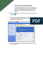 Como Conectarse a Wifi Con Windows XP