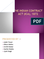 Indian Contract Act Ppt by Ankit