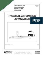 Expansión termica pasco