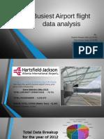 Busiest Airport Flight Data Analysis