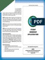 SEAPEX- Student Membership Form