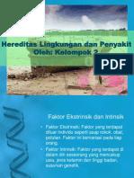 Hereditas Lingkungan Dan Penyakit