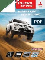 New Pajero Sport Flyer Dakar