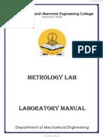 Metrology Lab Manual