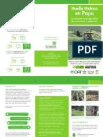 Huella hídrica en papa. Comparación entre agricultura de conservación y tradicional