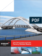 Essar Steel Welded Beams