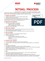 essay writing process rmit