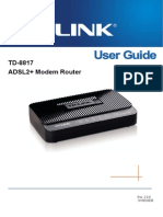 TD-8817 User Guide