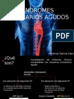 Síndromes isquémicos coronarios agudos