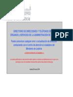 Direcciones y Teléfonos JUZGADOS España act. 2014.pdf