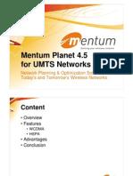 Mentum Planet 4.5 Umts