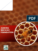 Making Organic Wax Foundation