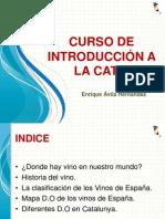 CURSO INTRODUCIÓN A LA CATA